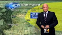 Friday PM Forecast: Periods Of Rain, Strong Storms East