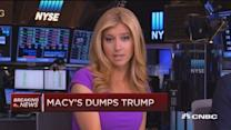 Macy's dumps Donald Trump