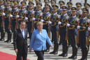 Germany's Angela Merkel Stresses Dialogue on Trade, Tech and Human Rights in China
