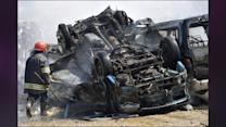 Bombings Kill 53 In South And Central Iraq