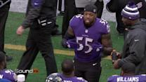 'Sound FX': Baltimore Ravens linebacker Terrell Suggs leads Ravens