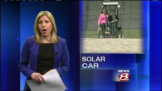 Oxford Hills students create sun-powered car