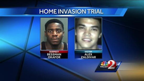 Jury selection for Bessman Okafor home invasion trial begins