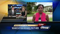 Family members of missing Pahokee woman hand out fliers