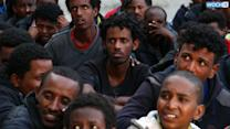 Many Deaths As Boat With African Emigrants Sinks Off Libyan Coast; Libya Navy