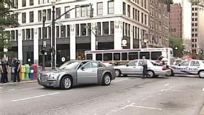Corrections Officer Hit In Downtown Louisville