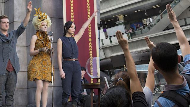 Thais Protest Coup With 'Hunger Games' Salute