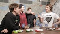 Basement takes on the world's hottest peppers in a hot-pepper-eating challenge