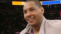 Postgame: Carmelo Anthony