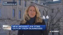 New Indiana law stirs outcry from businesses