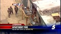 Firefighters control apartment fire in SW Oklahoma City