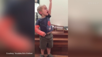 3-year-old nails performance of 'Do You Hear the People Sing' from 'Les Miz'