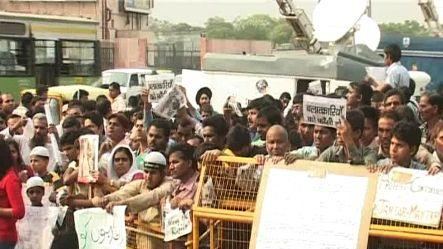 5-year-old girl rape: Protest continues on 2nd day