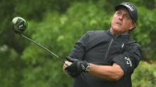 Phil Mickelson is dominating matches so much he hasn't even played 16th hole yet