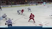 Henrik Zetterberg steals and scores