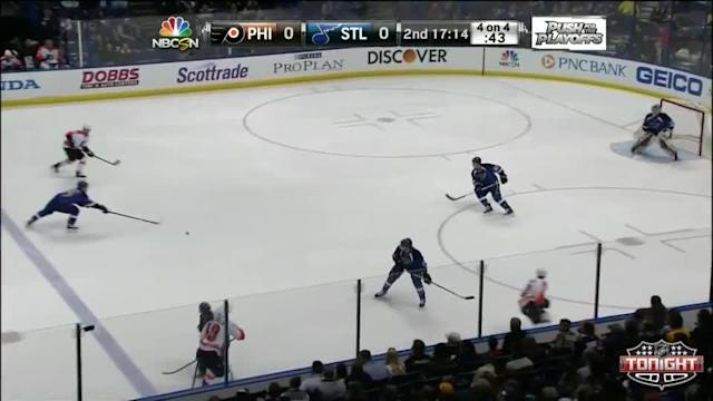 Philadelphia Flyers at St. Louis Blues - 04/01/2014