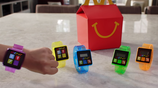 McDonald's recalls 29 million fitness trackers in the US that were included in some of its Happy Meals