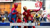 'Spider-Man' Accused Of Punching Police Officer