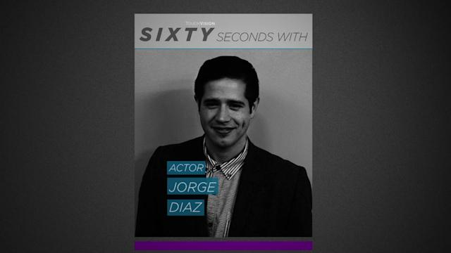 60 SECONDS WITH JORGE DIAZ