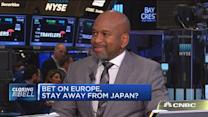 Bet on Europe, stay away from Japan?