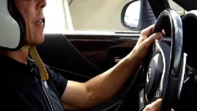 GQ Life - GQ Rides Along For a Lap in the Lexus LFA Supercar
