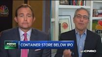 Container Store's cost battle
