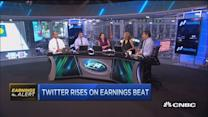 Twitter soars on earnings beat
