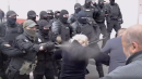 Police Shove, Spray, and Arrest Protesters in Belarus