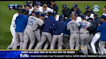 Padres talk about fight on field with the Dodgers