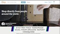Etsy may face rival from Amazon