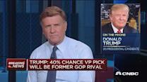Trump: 40% chance vp will be from GOP rival