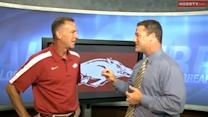 Jimmy Dykes talks 2012 Hog Football