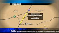 Traffic Alert: I-15 closure this weekend
