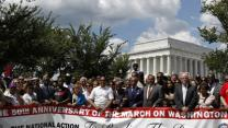 Tens of Thousands March Remembering King