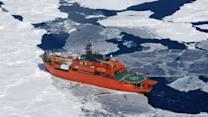Australian icebreaker to arrive Sunday night for trapped ship