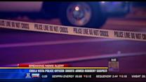 Chula Vista police officer shoots armed robbery suspect