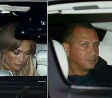 JLo and A-Rod Hit Bel Air for Low-key Dinner Date