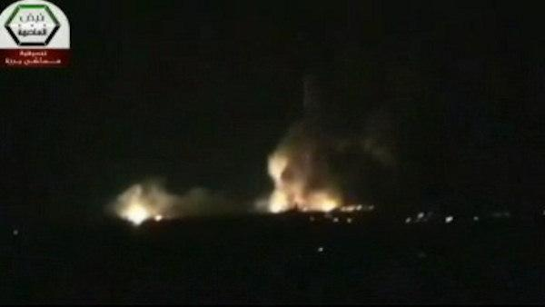 Israeli strike on Syria targeted weapons shipment