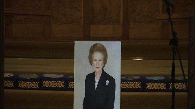 Falkland Islands Honor the Late Thatcher