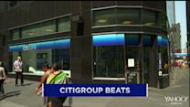 Citigroup tops estimates but profits drop; AbbVie makes fifth bid for Shire; Aecom buys URS