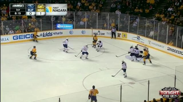Buffalo Sabres at Nashville Predators - 03/27/2014
