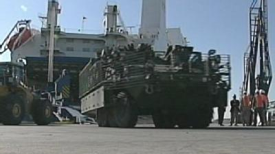 Military Deliveries Could Mean New Business, Jobs At Port