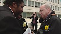 Top GOP figure, NAACP president debate on sidewalk