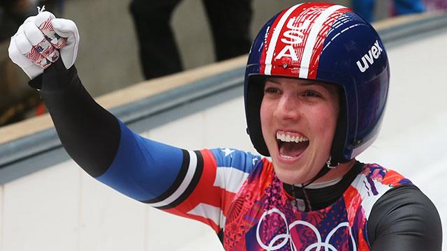 Erin Hamlin gives USA first singles luge medal