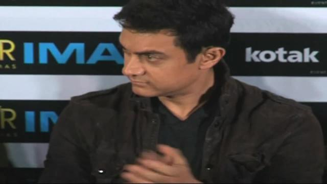 Aamir's experience with IMAX