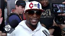Floyd Mayweather's advantage over Canelo Alvarez