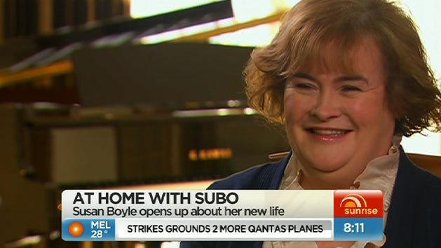 At home with Susan Boyle