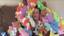 Boy with Asperger's Syndrome donates stuffed animals
