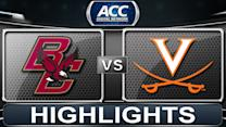 Boston College vs Virginia | 2014 ACC Basketball Highlights