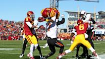Iowa State - DeVondrick Nealy Flies in for a Touchdown vs Oklahoma State